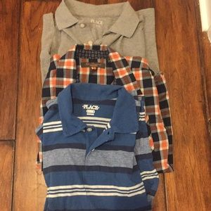 Other - Boys 10/12 collared shirts